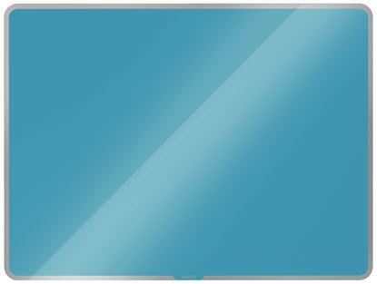 Obrázek Tabule magnetická skleněná Leitz COSY - 80 x 60 cm / klidná modrá