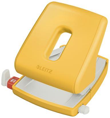 Obrázek Kancelářský děrovač Leitz COSY - teplá žlutá