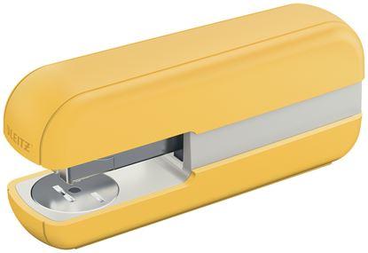 Obrázek Kancelářský sešívač Leitz COSY - teplá žlutá