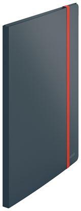 Obrázek Prezentační desky A4 Leitz COSY - 20 kapes / sametově šedá