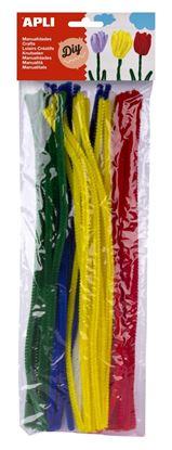 Obrázek Modelovací drátky APLI barevný mix / 50 ks