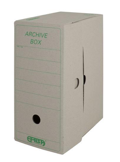 Obrázek z Archivní box Emba - 33 cm x 26 cm x 15 cm / starý motiv