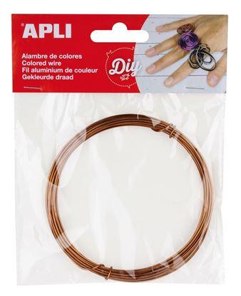 Obrázek Modelovací drát APLI meděný / šířka 1,5mm / délka 5m
