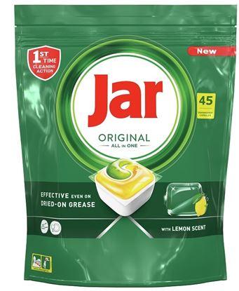 Obrázek JAR All in one tablety do myčky 45 ks / citron