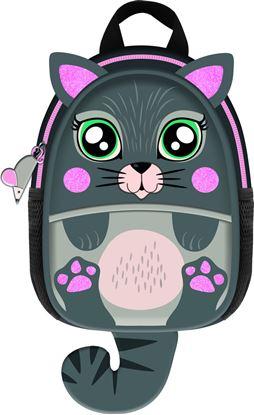 Obrázek Dětský batoh Jiri Models kočka / Hurá kolekce
