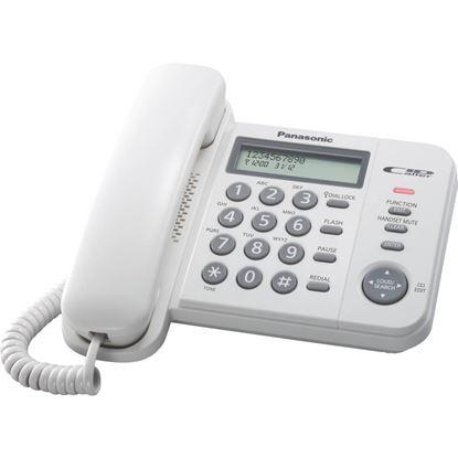 Obrázek Telefon Panasonic KX TS560FXW - bílá