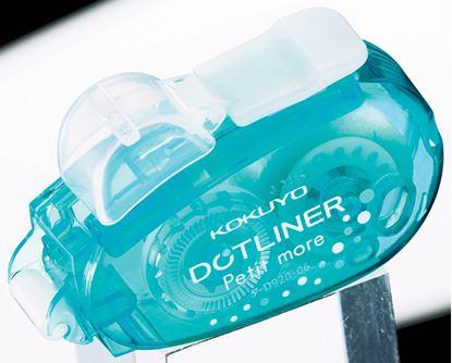 Obrázek Lepicí roller Kukuyo - 6 mm x 10 m / modrý - tečky