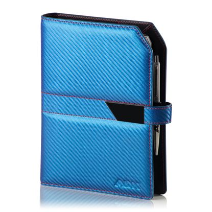 Obrázek Diář ADK A5 Carbon slim - modrá