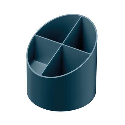 Obrázek Stojánek na psací potřeby Herlitz GREENline - tmavě modrá