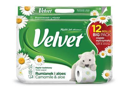 Obrázek Toaletní papír Velvet Camomille - 12 rolí