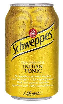 Obrázek Nápoje plech - Schweppes Tonic / 0,33 l