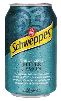 Obrázek Nápoje plech - Schweppes Tonic Bitter Lemon/ 0,33 l