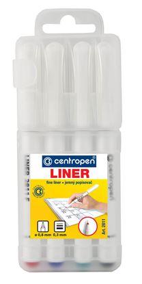 Obrázek Liner Centropen 2811 F - sada 4 ks