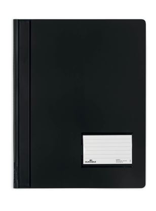 Obrázek Rychlovazač A4 plastový Durable Duralux - černá
