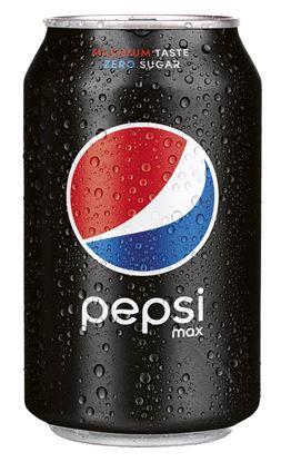 Obrázek Nápoje plech - Pepsi MAX / 0,33 l
