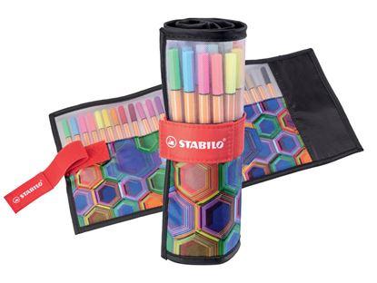 Obrázek Liner STABILO® point 88 rollerset ARTY - set 25 barev