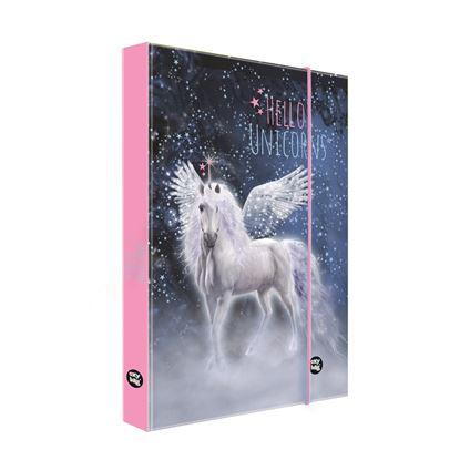 Obrázek Box na sešity - A5 / unicorn