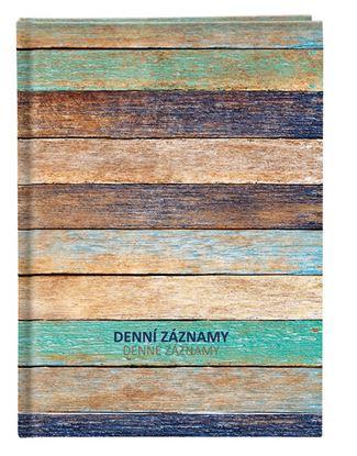 Obrázek Denní záznamy A4 - dřevo