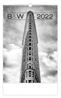 Obrázek Kalendář nástěnný - Black &  White / N146