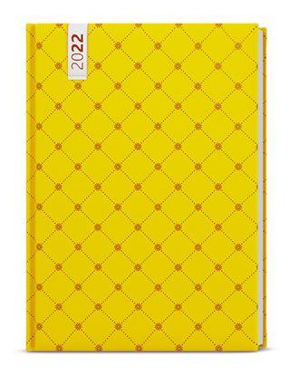 Obrázek Diář LAMINO - denní B6 / žlutý