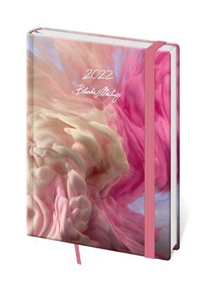 Obrázek Diář VARIO Blanka Matragi - denní A5 / pink