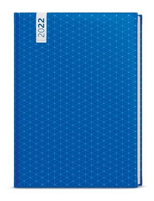 Obrázek Diář LAMINO - týdenní B6 / modrý