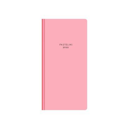 Obrázek Diář kapesní - měsíční / PASTELINI / růžová