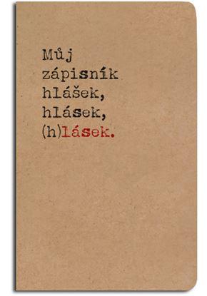Obrázek Notes linkovaný - A5 - kraft - zápisník (h)lásek