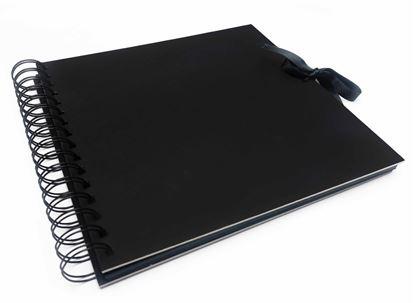 Obrázek Album/Scrapbook - 210x210 - černá